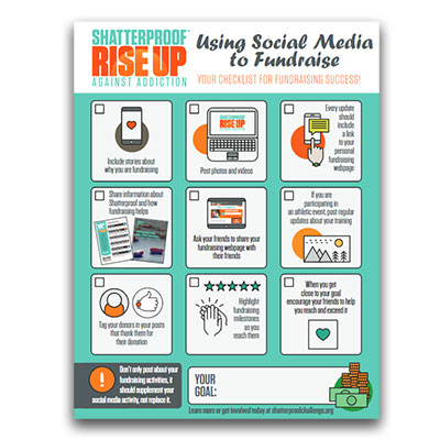 Fundraise with social media