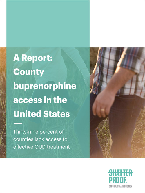 A Report: County buprenorphine access in the United States