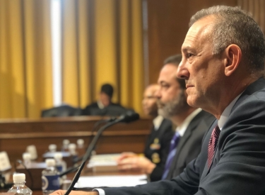 Gary Mendell at Senate Finance Committee Hearing