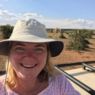 Holly in Africa