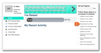 Power Fundraising - Bring it Together on Your Fundraising Page - 01