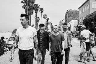 Theory of a Deadman Promo Photo